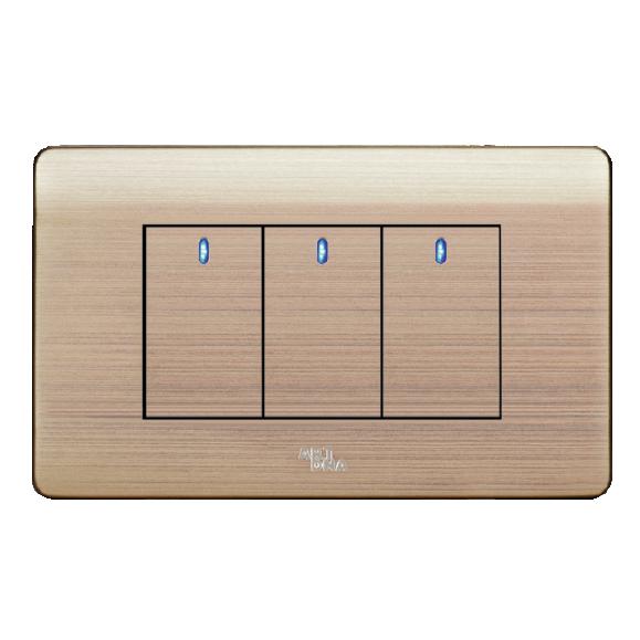 Công tắc LED ba, một chiều A85-MK3A
